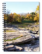 Devonian Fossil Gorge Coralville Lake Ia 3 Spiral Notebook