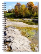 Devonian Fossil Gorge Coralville Lake Ia 1 Spiral Notebook