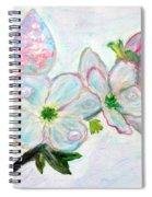 Dew And Smell Of Almond Flowers Spiral Notebook