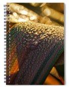 Dewy Leaves Spiral Notebook