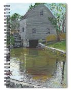 Dexter's Grist Mill - Cape Cod Spiral Notebook