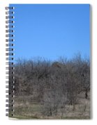 Dfw National Cemetery Flag On The Hill Spiral Notebook
