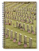 Dfw National Cemetery II Spiral Notebook