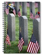 Dfw National Cemetery Spiral Notebook
