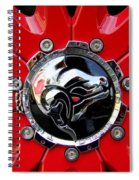 Diablo Wheel Hub Spiral Notebook