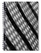Diamond Fence Spiral Notebook