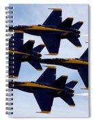 Diamond Formation Spiral Notebook