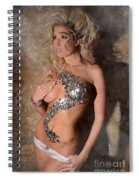 Diamond Girl Spiral Notebook