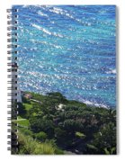 Diamond Head Lighthouse - Hawaii Spiral Notebook