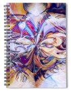 Diamond Heart Spiral Notebook