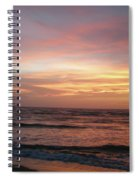 Diamond Shoals Sunset - Outer Banks Nc Spiral Notebook