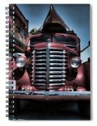Diamond T Vintage Truck Art Spiral Notebook