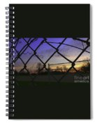 Diamonds In The Sky Spiral Notebook
