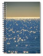 Diamonds On The Ocean Spiral Notebook