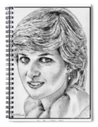 Diana - Princess Of Wales In 1981 Spiral Notebook
