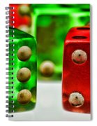 Dice - Boxcars Spiral Notebook