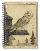 Die Schleyer Eule Spiral Notebook