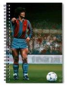 Diego Maradona Spiral Notebook