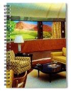 Diemaxium Living Room Spiral Notebook