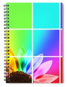 Diffraction Of Light Spiral Notebook