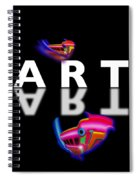 Digital Art Spiral Notebook