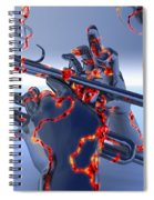 Digital Jazz Spiral Notebook