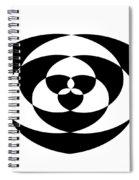 Digital Mono 1 Spiral Notebook