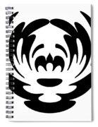 Digital Mono 15 The Clown Spiral Notebook