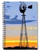 Digital Windmill-vertical Spiral Notebook