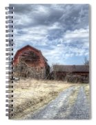 Dilapidated Barn Spiral Notebook