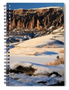 Dillon Pinnacles Sunset Spiral Notebook