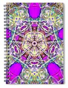 Dimensional Crossover Spiral Notebook