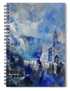 Dinant In Blue Spiral Notebook