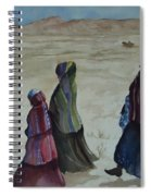 Dineh Leaving The Trading Post Spiral Notebook