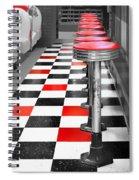 Diner - 1 Spiral Notebook