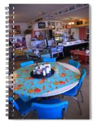 Diner On Route 66 Spiral Notebook