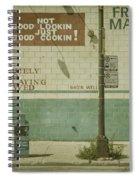 Diner Rules Spiral Notebook