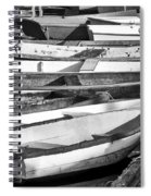 Dinghies - Perkins Cove Maine Spiral Notebook