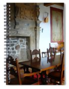 Dining At Donegal Castle Spiral Notebook
