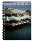 Dining On The Bay Spiral Notebook