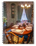 Dining Room And Dinner Table Spiral Notebook