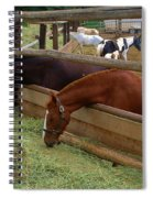 Dinner At The Ranch Spiral Notebook
