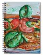 Dinner Spiral Notebook
