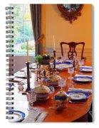 Dinner Table Spiral Notebook