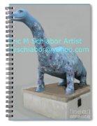 Dino The Bayville Dinosaur Spiral Notebook