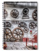 Dinorwig Quarry Workshop Spiral Notebook