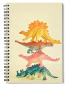 Dinosaur Antics Spiral Notebook