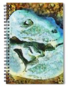 Dinosaur Hatch At Pismo Beach California Spiral Notebook
