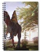 Dinosaur Spinosaurus Spiral Notebook