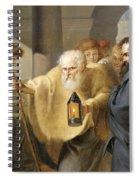 Diogenes Spiral Notebook